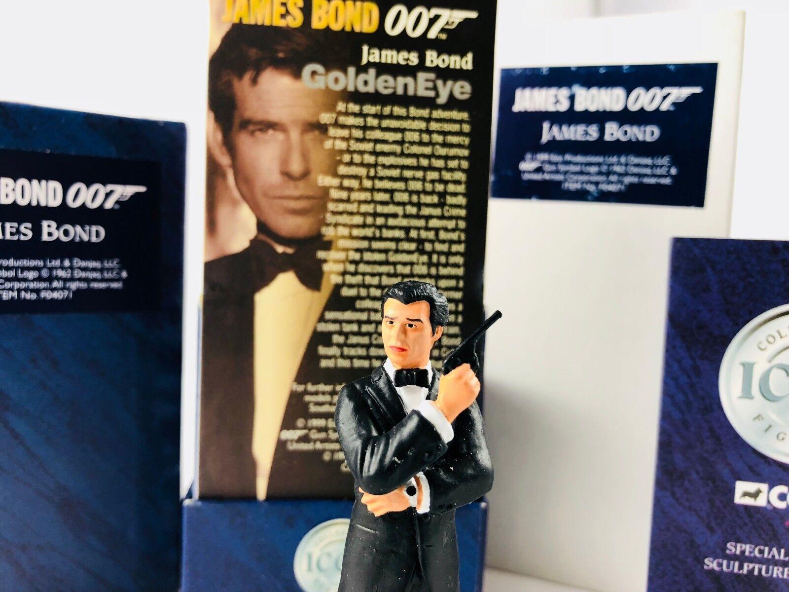 JAMES BOND CORGI ICON 007 PIERCE BROSNAN 1st EDITION FIGURE