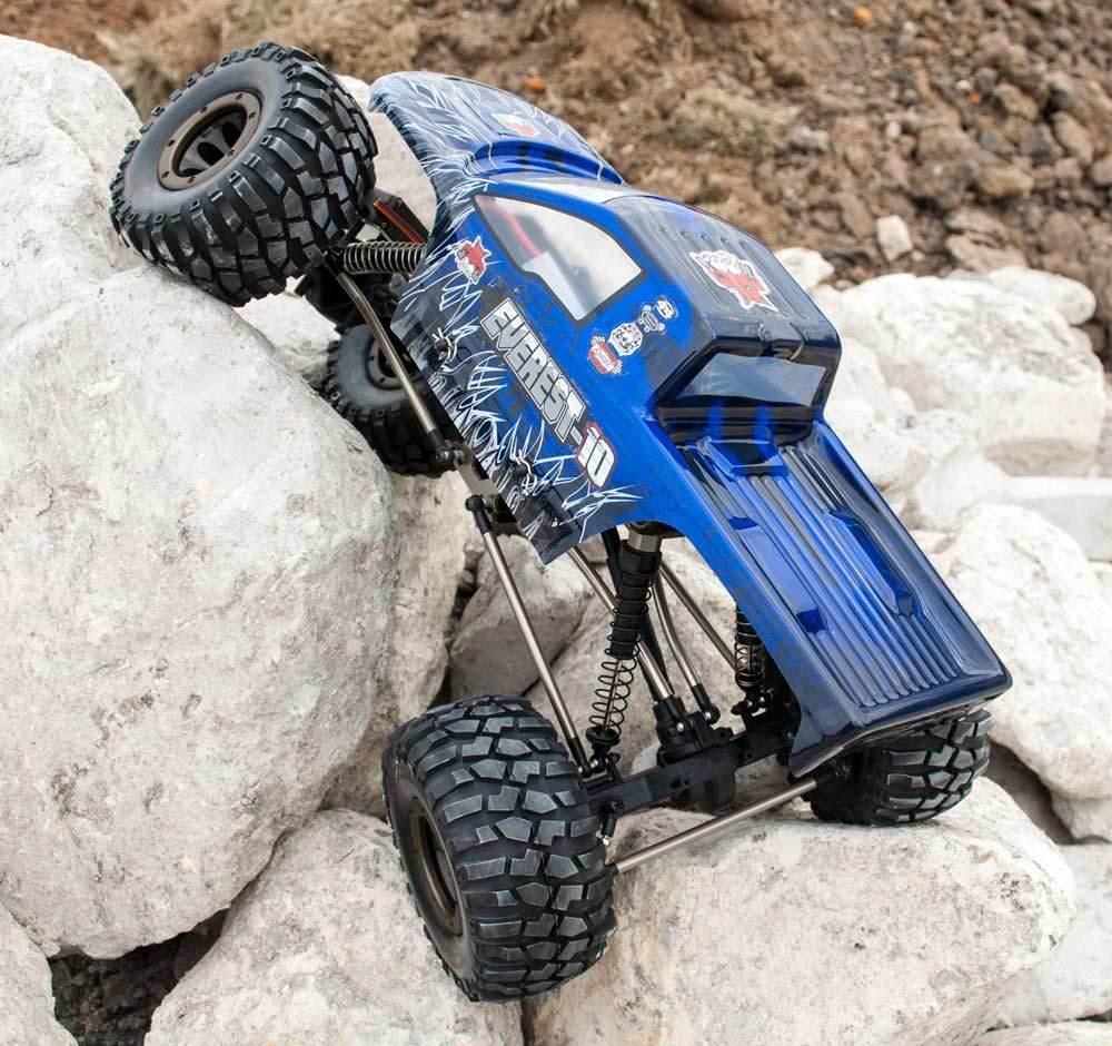 Rojocat Racing Everest - 10 Rock Crawler 1 10 escala Eléctrico RC Coche 2.4GHz Listo Para Correr Azul