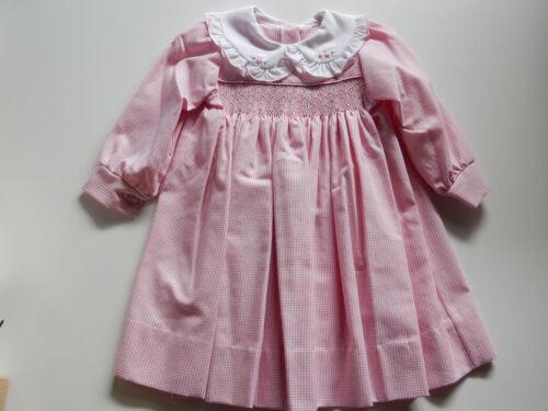 BABY TODDLER GIRLS SMOCKED DRESS SETS HANDMADE AUSTRALIAN CLASSIC VINTAGE STYLES