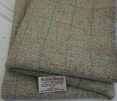 Harris Tweed Tela Y Etiquetas 100/% Lana Craft material-varios tamaños código dc24