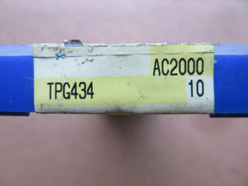 Free Shipping 10 Sumitomo TPG434 Carbide Inserts AC2000 NEW!!
