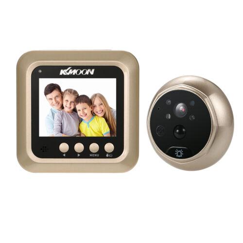 """KKmoon 2.4/"""" LCD Digital Peephole Viewer PIR Motion Camera Door Eye Doorbell C7Q7"""