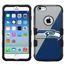 for Apple iPhone 6/6S Rugged Armor Impact Hybrid Case Seattle Seahawks #J