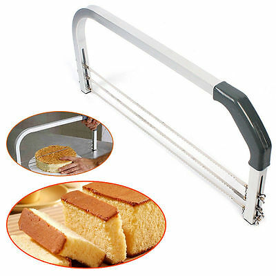 Large Cake Interlayer Cutter Leveller Slicer 3 Blade Industry Standard Leveler