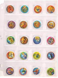 Dragon-Ball-Z-Tazos-COMPLETE-SET-30-30-Pogs-Taps-Tazos