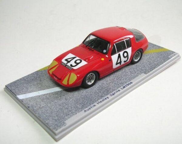 los últimos modelos Austin Healey Sprite N° 49 Lemans 1966 1966 1966  marca famosa