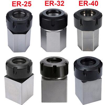 ER-40 Hexagonal Collet Block