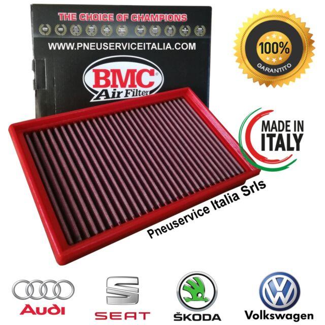 Filtro Aria sportivo BMC FB756/20 Made in Italy per AUDI SEAT, SKODA, VOLKSWAGEN