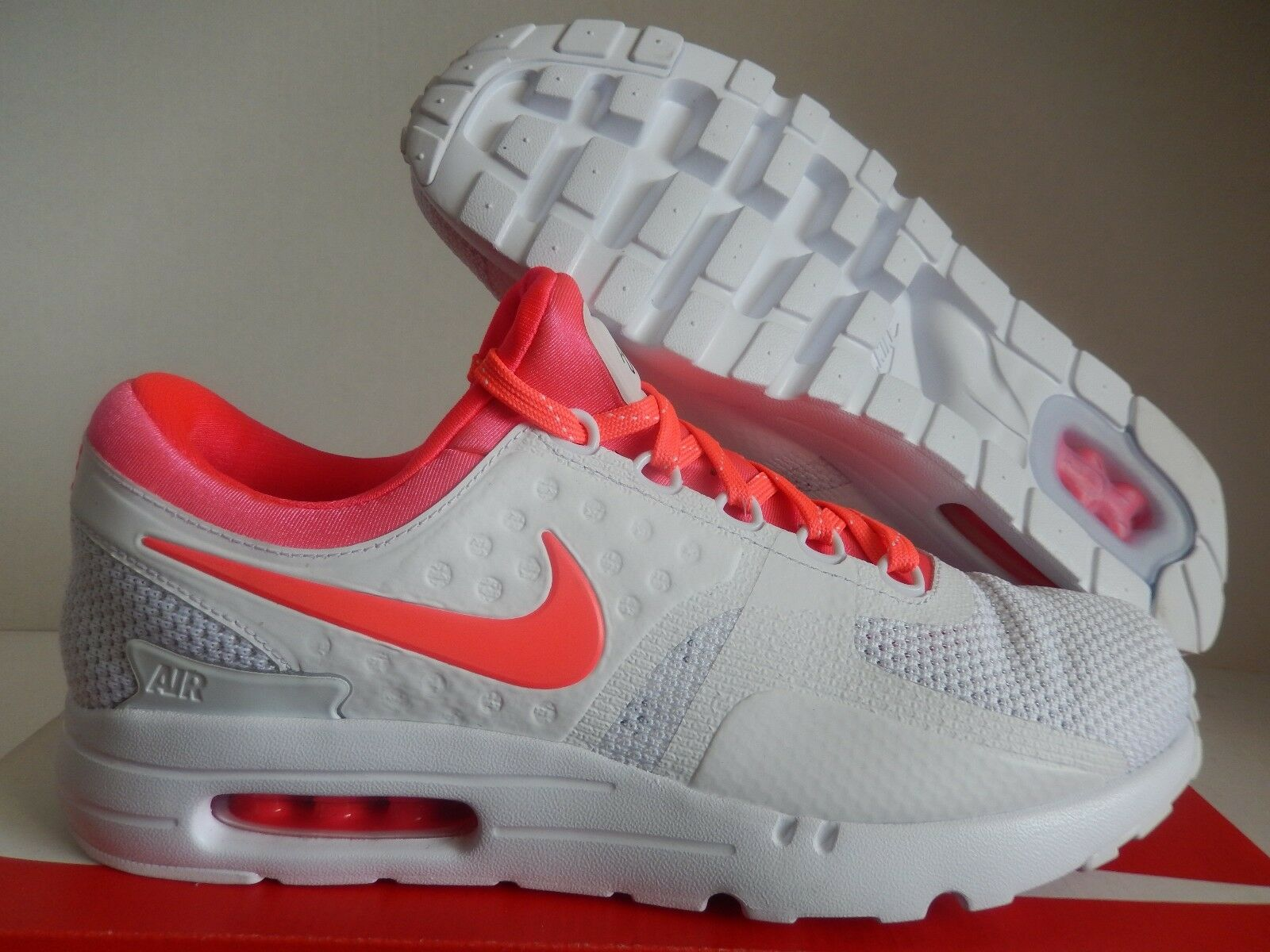 MENS NIKE AIR MAX ZERO ID WHITE-INFRARED Price reduction The most popular shoes for men and women