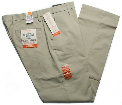 Dockers #7502 NEW Men/'s Flat Front Classic Fit Signature Khaki Pants MSRP $62