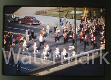 1961 Kodachrome photo slide Indianapolis IN parade  #7 Majorette Baton Twirlers