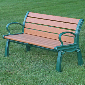 Prime Details About Recycled Plastic Heritage Garden Park Bench By Frog Furnishings Ocoug Best Dining Table And Chair Ideas Images Ocougorg
