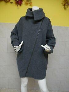CORA-KEMPERMAN-joli-manteau-40-laine-taille-XL