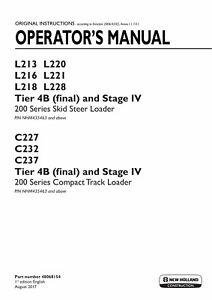 NEW-HOLLAND-L220-L221-L228-TIER-4B-STAGE-IV-SKID-STEER-LOADER-OPERATORS-MANUAL