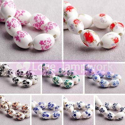 50pcs 7//9mm Silver Plated Drop Alloy Teardrop Loose Spacer Beads Charms Jewelry