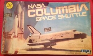 Details about NASA SPACE SHUTTLE COLUMBIA Model Build 1/144 Kit 1-4651  Fundimensions CPG 15 5