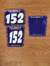 FULLBORE RACING NUMBER PLATE BACKGROUND GRAPHICS KIT DECAL #152 WIENEN YFZ450R