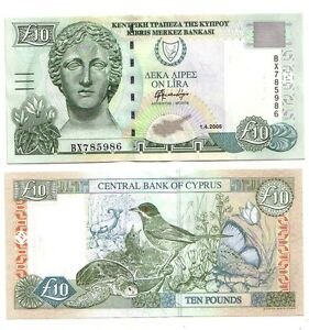 Cipro-Cyprus-10-pounds-2005-FDS-UNC-Pick-62e-lotto-2350