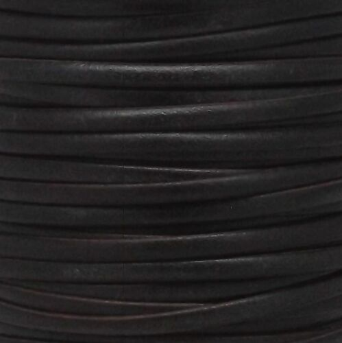 Calf Lace Dark Brown 1//8 x 50 Yards by Real Leather