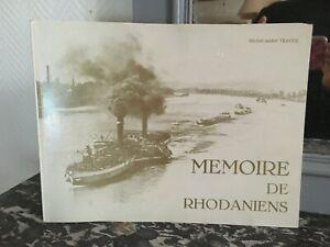 Michel-André Tracol Mémoire De Rhodaniens De Puntos De Autor Álbum 1977 E. O