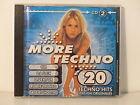 CD ALBUM More techno 20 techno hits CD2 CM DJ FLEX D. VEKTOR .. 740550 2
