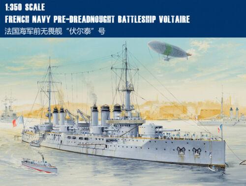 Hobbyboss 1//350 86504 French Navy Pre-Dreadnought Battleship Voltaire