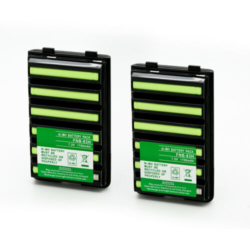 2 X FNB-V57 FNB-83 Battery for YAESU VX-110 VX-120 VX-127 VX-150 VX-160 VX-177
