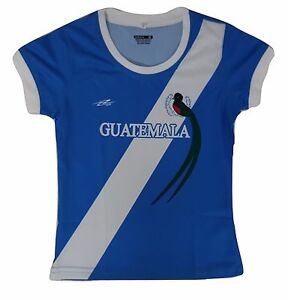 cd2a9683028 Guatemala Soccer Girls's Jersey Made by Arza Sports Made In Mexico ...