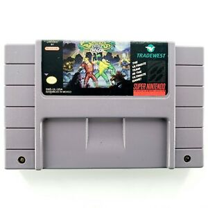 Battletoads-amp-Double-Dragon-The-Ultimate-Team-Super-Nintendo-Authentic-Tested