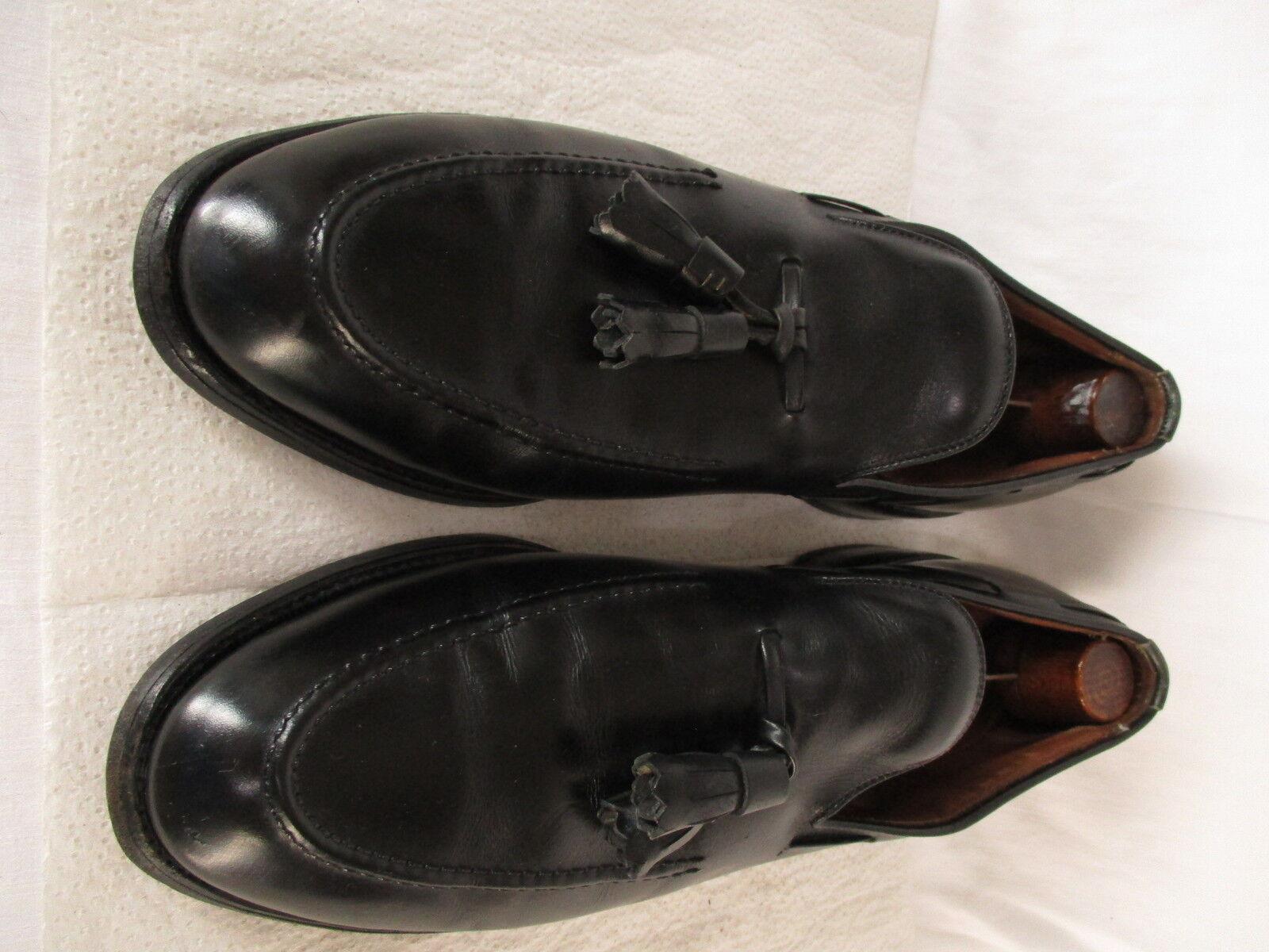 molto popolare Allen Edmonds Edmonds Edmonds Saratoga Uomo nero Tassel Loafers 9A  liquidazione fino al 70%
