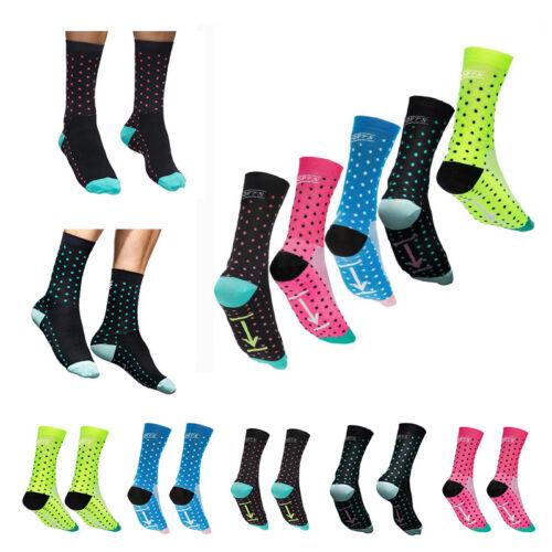 Men Women Cycling Socks Running Professional Breathable Sports Bike Socks Dot
