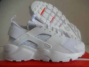 online store d9759 361fb Image is loading NIKE-AIR-HUARACHE-RUN-ULTRA-BR-BREATHE-WHITE-