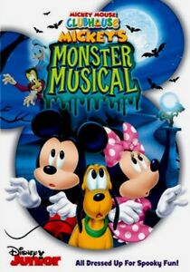 Disney-Junior-Mickey-Mouse-Clubhouse-Mickey-039-s-Monster-Musical-Kids-Halloween-DVD