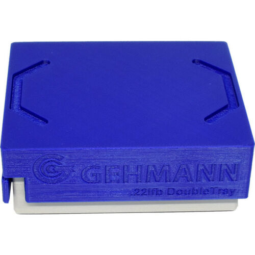 New Gehmann 869-D Double .22 catridge box support tray and box