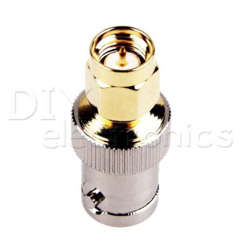 BNC Adapter Female//Male Jack To SMA Male//Female Plug Stecker RF Connector B2AE