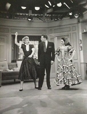 """Lucille Ball & Desi Arnaz """"I Love Lucy"""" 1950's Television Comedy Photograph #198"""