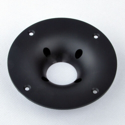 2PCS OD115mm Tweeter Cover Panel Speaker Decorative Circle Fixed Plate 33mm Hole