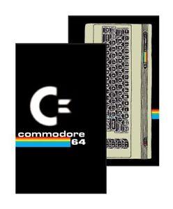 Commodore-64-Notizbuch-C64-Logo-13-x-21-cm-NEU-amp-OVP