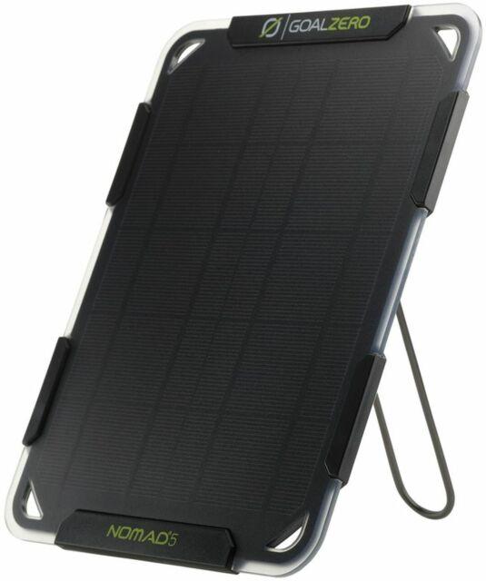 Goal Zero Nomad 5 5W Solar USB Phone Charger BOXED NEW FREEPOST