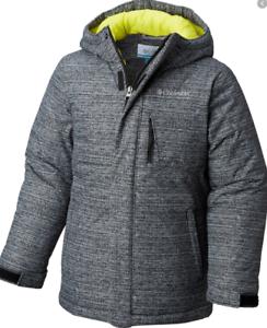 Columbia-Alpine-Free-Fall-Ski-Snowboarding-Coat-Mens-Size-UK-XL-Grey-Ref100