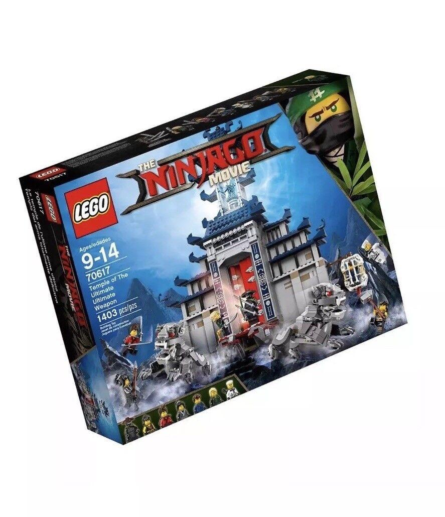 LEGO Ninjago Movie Temple Ultimate Ultimate Weapon 70617 Building Kit (1403 P...