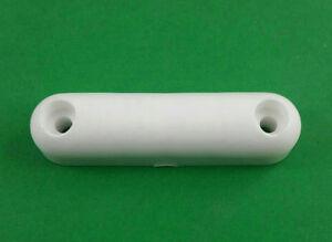 Weekend-Warrior-Toy-Hauler-Ramp-Cargo-Door-White-Plastic-Bumper-Stop-401899-PWY