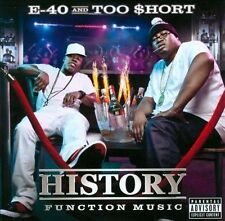 History: Function Music [PA] by Too $hort/E-40 (Rap) (CD, 2012, Heavy on the...