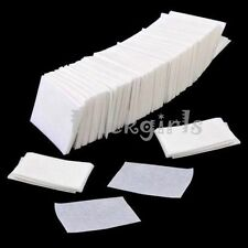 900 Nail Art UV GEL Polish Remover Lint Cleaner Wipe Cotton Pads Paper