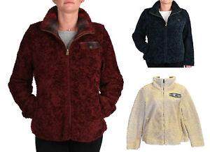 Pendleton-Womens-Fuzzy-Zip-Jacket