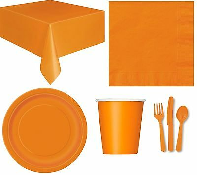 HALLOWEEN PARTY TABLEWARE - Plates/Cups/Napkins/Tablecovers/Bags/Balloons