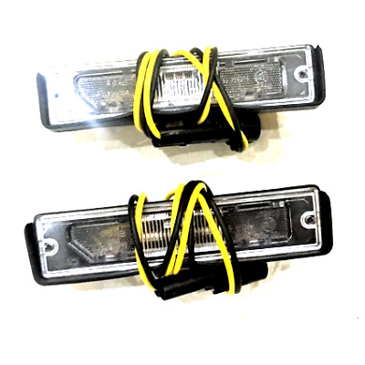 Number Plate Light Lamp x2 Pair Of