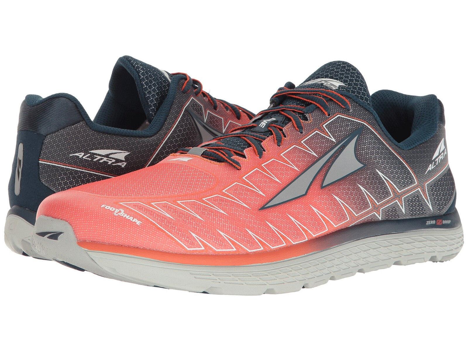 Altra One V3 Running shoes, Men's Size 12-12.5 D, orange AFM1734F-2 NEW