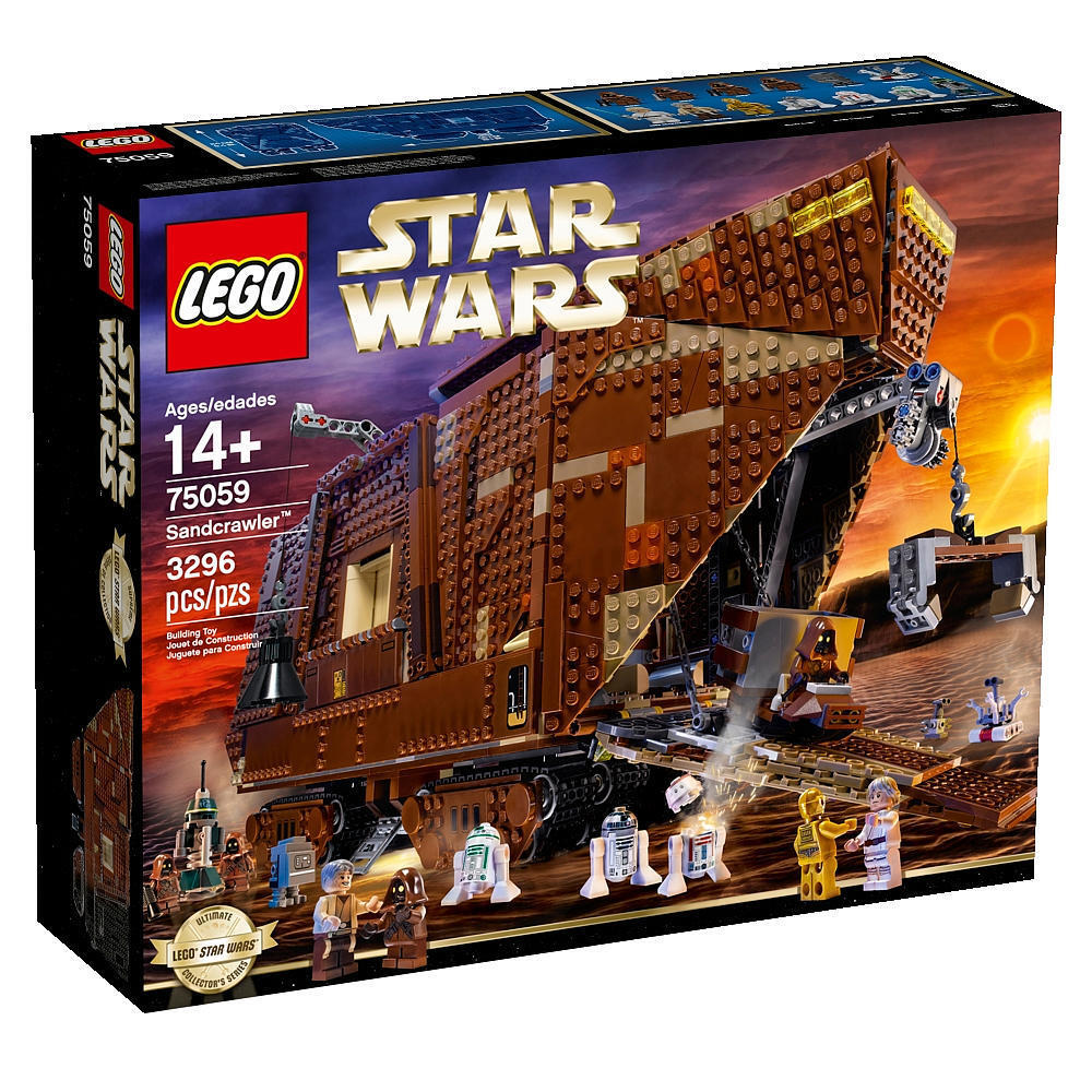 Brand Brand Brand NEW LEGO Star Wars Sandcrawler (75059) c512f8