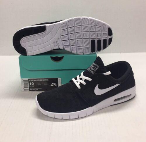 631303 Black Janoski Stefan White Nike 010 Max Sb H68OvqT